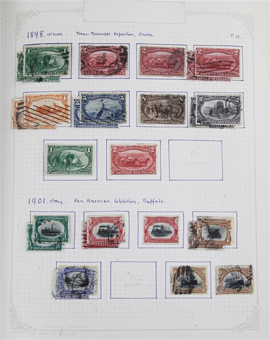 A large collection of stamps and covers