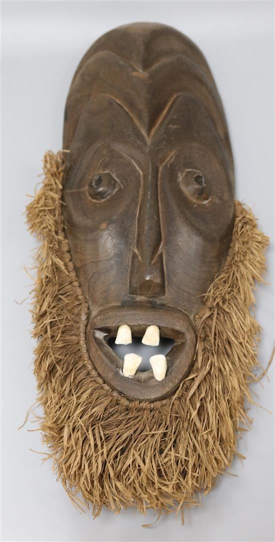 An African tribal mask height 47cm