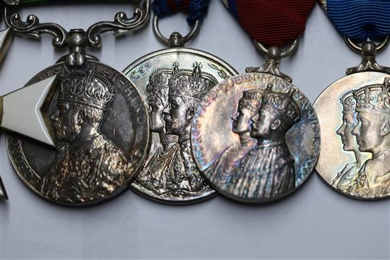 A KCIE CSI MVO group of 8 medals to Sir Herbert Aubrey Francis Metcalfe (1883–1957)