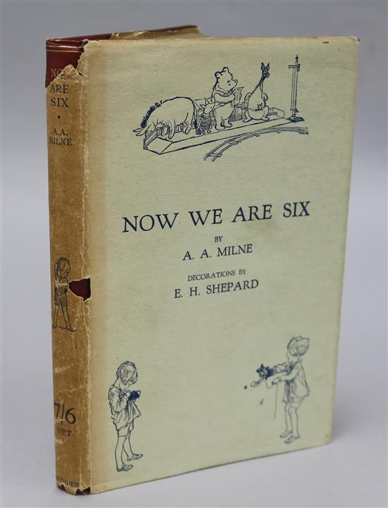 Milne, Alan Alexander - Now We Are Six, first published 1927,