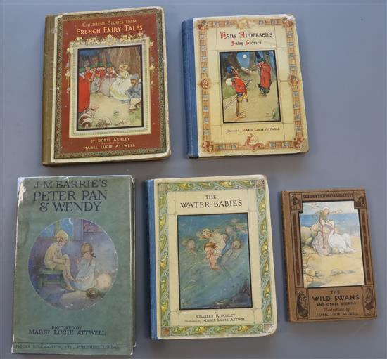 Mabel Lucie Attwell (illustrator) 5 works - Ashley, Doris - French Fairy Tales,